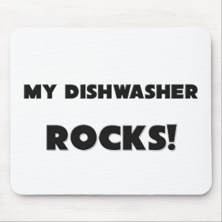 MY Dishwasher ROCKS Mouse Pads