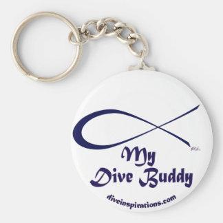 My Dive Buddy Keychain