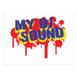 My DJ Sound Postcard