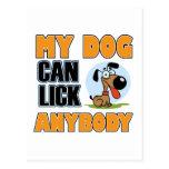 My Dog Can Lick Anybody