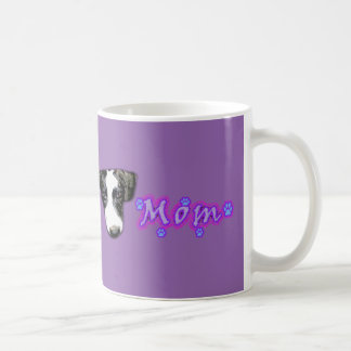 """My Dog Dudley Collection"" Purple Mom Coffee Mug"