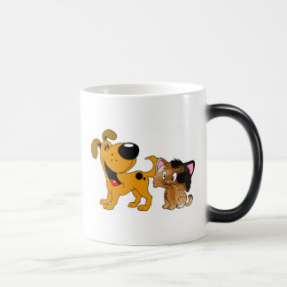 My Dog Loves Cats! 11 Oz Magic Heat Color-Changing Coffee Mug
