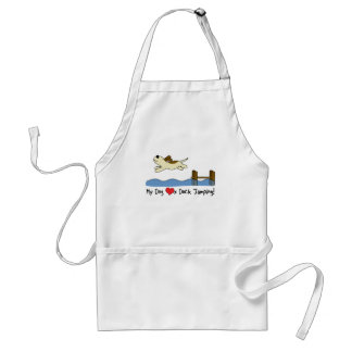 My Dog Loves Dock Jumping Standard Apron