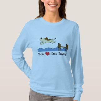 My Dog Loves Dock Jumping T-Shirt