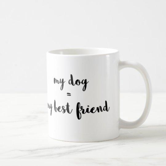 My Dog = My Best Friend Coffee Mug