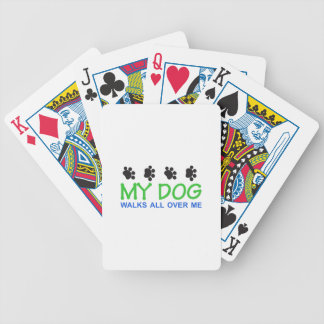 My Dog Walks Deck Of Cards