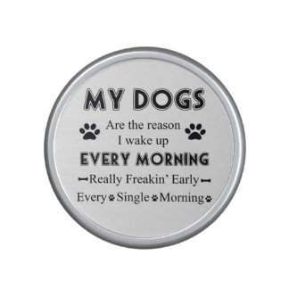 My Dogs Bluetooth Speaker