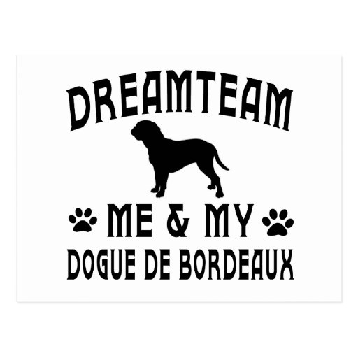 My Dogue de Bordeaux Dog Post Cards