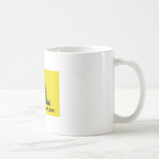 my Don't Touch My Junk Basic White Mug