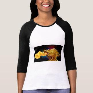 My Dragon is Fierce 3/4 Length Sleeve T-Shirt