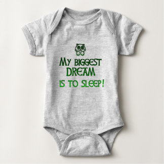 My dream to sleep baby bodysuit
