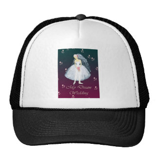 My dream wedding trucker hats