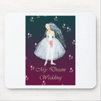 My dream wedding mouse pad