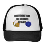 My Drinking Team Has A Bowling Problem Trucker Hat