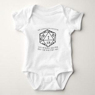 My Dungeon Master Baby Bodysuit