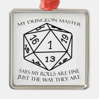 My Dungeon Master Christmas Ornament