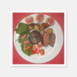 My Easy Suppers Beefburger & Fig Paper Napkins