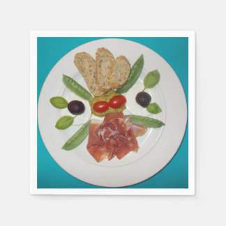 My Easy Suppers Parma Ham Paper Napkins