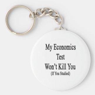 My Economics Test Won't Kill You If You Studied Key Chains