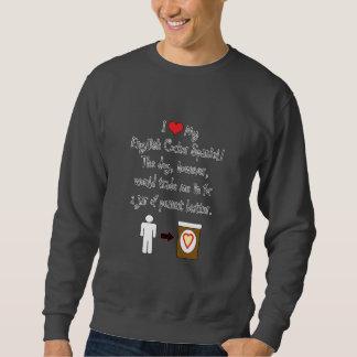 My English Cocker Spaniel Loves Peanut Butter Sweatshirt