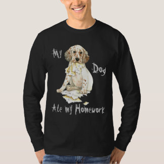 My English Setter Ate My Homework T-Shirt