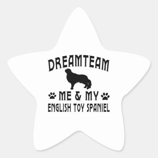 My English Toy Spaniel Dog Stickers