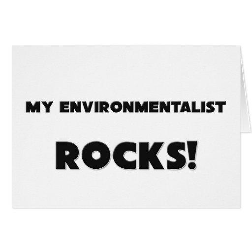 MY Environmentalist ROCKS! Card