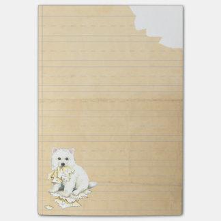 My Eskie Ate My Homework Post-it® Notes