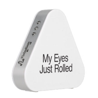 My Eyes Just Rolled.ai Speaker