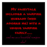 My fairytale includes a vampire husband (who ad... poster