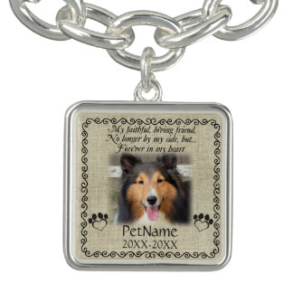 My Faithful Friend Pet Sympathy Custom Burlap