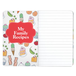 My Family Recipes Journal
