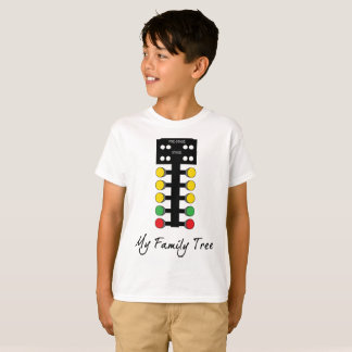 My Family Tree - Drag Racing Christmas Tree T-Shirt