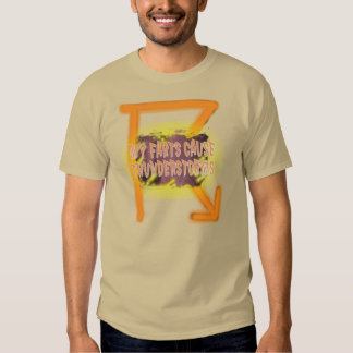 My Farts Cause Thunderstorms Shirt. T-Shirt