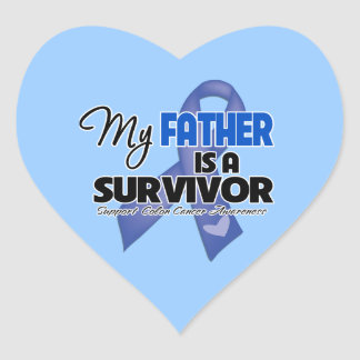 My Father is a Survivor - Colon Cancer Stickers