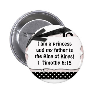 My father is King of King's 6 Cm Round Badge