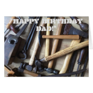 My Father's Tools Greeting Card