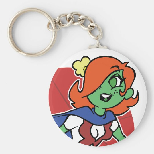 My Fave Martian Keychain