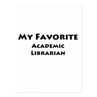 My Favorite Academic Librarian Postcards