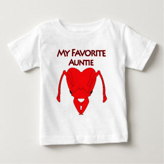 My Favorite Auntie Baby T-Shirt