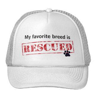 My Favorite Breed Is Rescued Cap