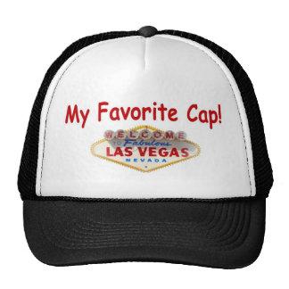 My Favorite Cap! Wth Las Vegas Sign Hat
