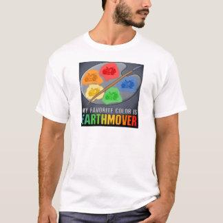 My Favorite Color Is Earthmover Scraper Mens T-Shi T-Shirt