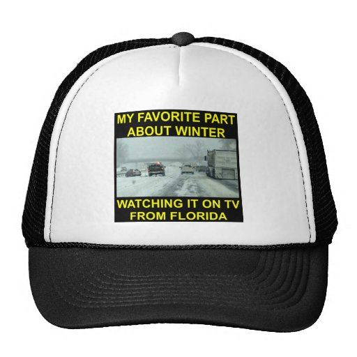My Favorite Part About Winter Watching It On TV Hats
