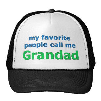 my favorite people call me grandad cap