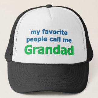my favorite people call me grandad trucker hat