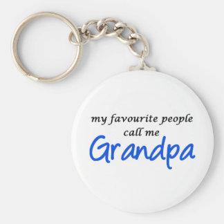 My favorite people call me Grandpa Keychains