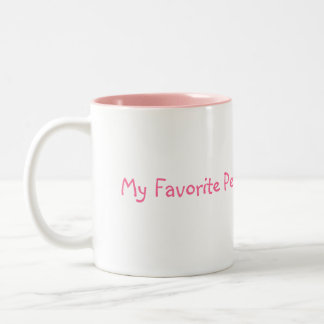My Favorite People Call Me Nana! Two-Tone Coffee Mug