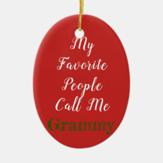My favorite people call me...ornament christmas ornament