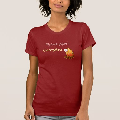 My favorite perfume is campfire Camping Hiking T Shirts